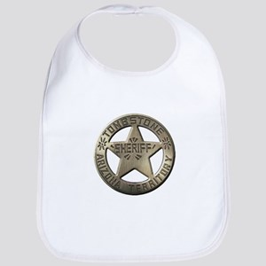 Tombstone Sheriff Bib