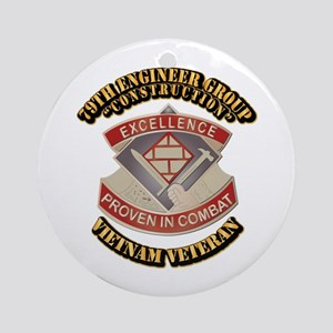 Army - 79th Engineer Group (Construction) Ornament