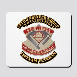 Army - 79th Engineer Group (Construction) Mousepad