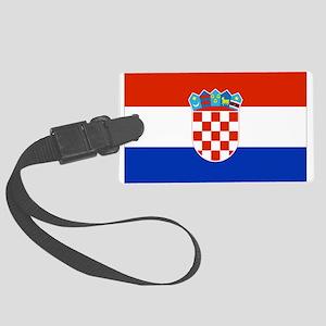 Croatia Luggage Tag