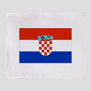 Croatia Throw Blanket