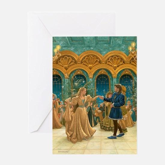 Dancing Princesses Greeting Card