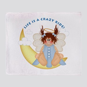 Crazy Ride Throw Blanket
