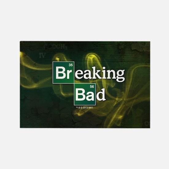 Breaking Bad Logo Rectangle Magnet