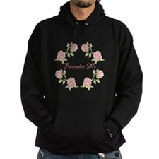 Personalized Rose Hoodie