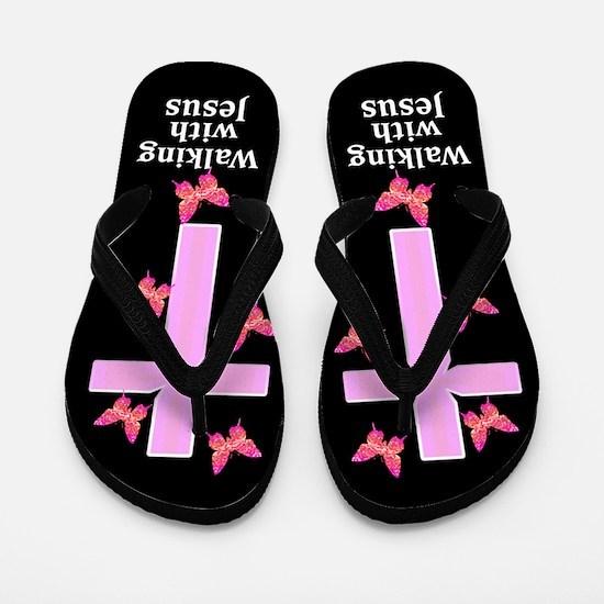 FOREVER JESUS Flip Flops