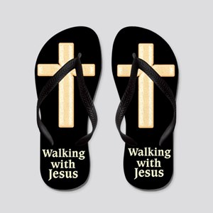 e459943da8676 Child Christ Flip Flops - CafePress