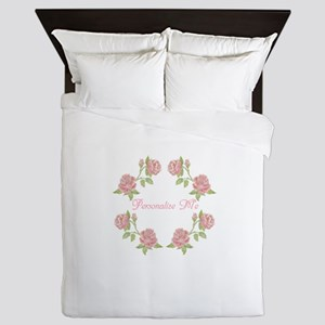Personalized Rose Queen Duvet