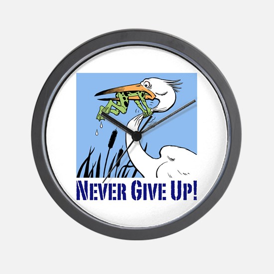 Dont Give Up3.Jpg Wall Clock