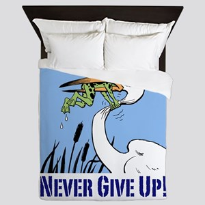 Dont Give Up3 Queen Duvet