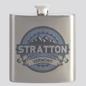 Stratton Blue Flask