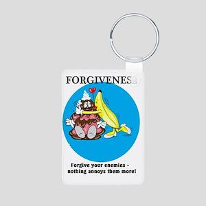 FORGIVENESS CARTOON Aluminum Photo Keychain