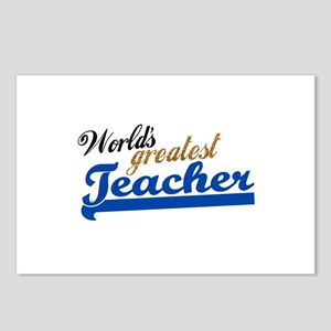 Worlds Greatest Teacher Postcards (Package of 8)