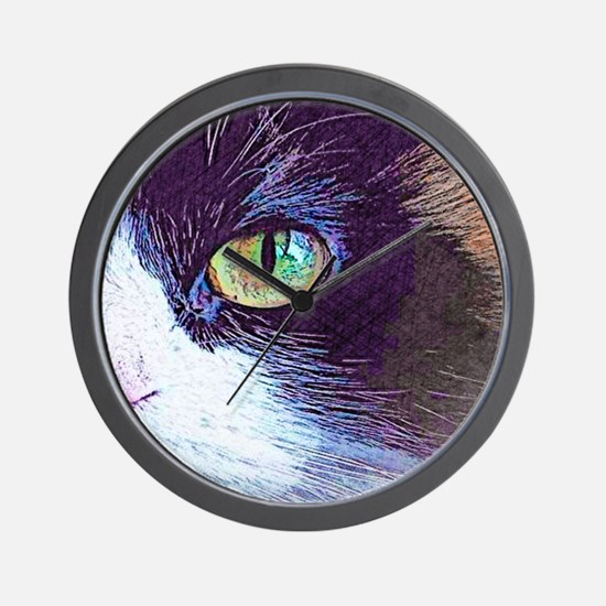 Calico Cat Wall Clock