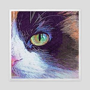 Calico Cat Queen Duvet