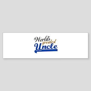 Worlds Greatest Uncle Bumper Sticker