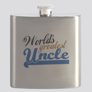 Worlds Greatest Uncle Flask