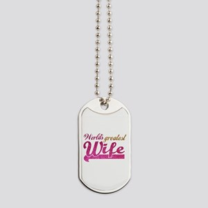 Worlds Greatest Wife Dog Tags