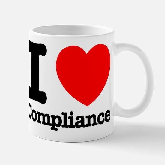 I Heart Compliance Mug