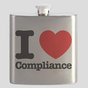 I Heart Compliance Flask