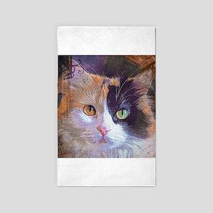 Calico Cat 3'x5' Area Rug