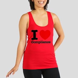 I Heart Compliance Racerback Tank Top