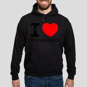 I Heart Compliance Hoodie (dark)