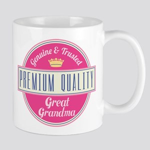 Premium Quality Great Grandma Mug