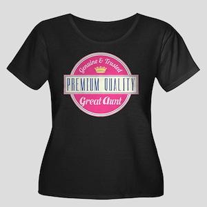 Premium Quality Great Aunt Women's Plus Size Scoop