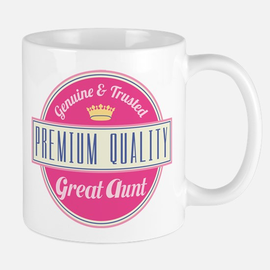Premium Quality Great Aunt Mug
