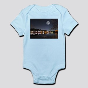 Cold Winters Night on Boathouse Row Body Suit