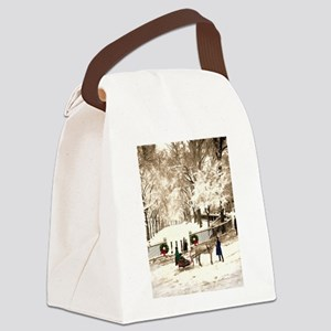 tag Canvas Lunch Bag