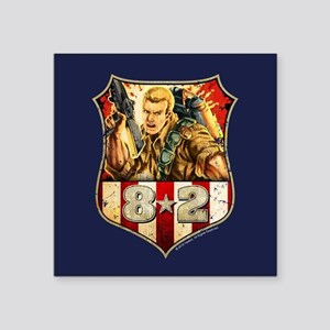 "G.I. Joe Duke Square Sticker 3"" x 3"""