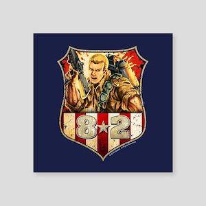"""G.I. Joe Duke Square Sticker 3"""" x 3"""""""