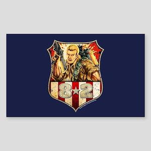 G.I. Joe Duke Sticker (Rectangle)