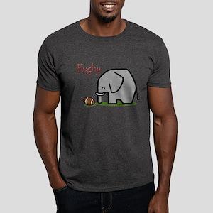 Rugby Elephant (2) Dark T-Shirt