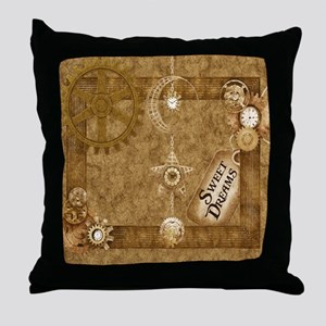Steam Punk'd - Home Collection Throw Pillow