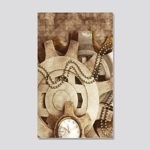 Steam Punk'd - Home Collection 20x12 Wall Decal
