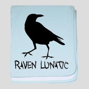 Raven Lunatic - Halloween baby blanket