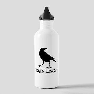 Raven Lunatic - Halloween Water Bottle