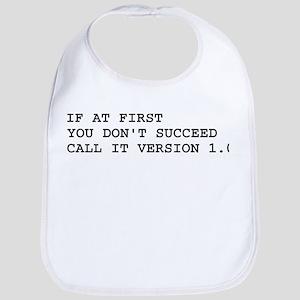 Call It Version 1.0 Computer Joke Bib