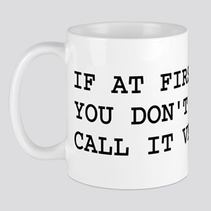Call It Version 1.0 Computer Joke Mug