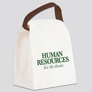 Human Resources Live the Dream Canvas Lunch Bag