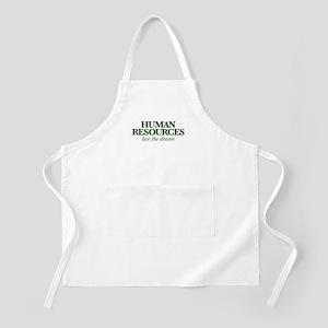 Human Resources Live the Dream Light Apron
