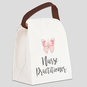 Nurse Practitioner Canvas Lunch Bag
