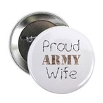 Proud Army Wife ver2 Button