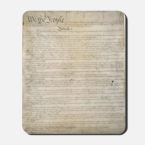 United States Constitution Mousepad