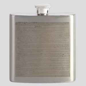 United States Constitution Flask