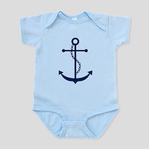 Blue Anchor Infant Bodysuit