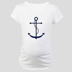 Blue Anchor Maternity T-Shirt